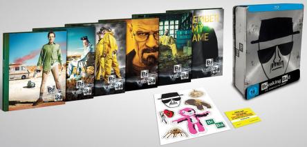 """Breaking Bad – Die komplette Serie in """"Tin Box"""" (Blu-ray) für 79,97 € - bis zu 26% sparen"""