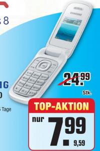 Samsung E1270 für 9,59 € bei Metro - 36% sparen