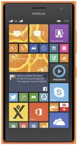 Nokia Lumia 730 (4.7″ OLED, Dual-Sim, Win 8.1, schwarz) um 175 €