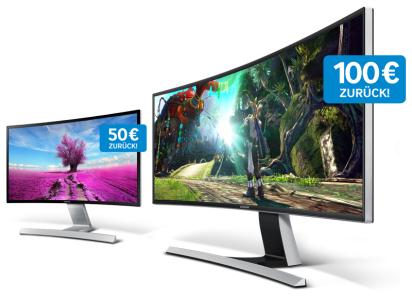 """Samsung """"S27D590CS"""" Curved Monitor um rund 300 € (Cashback) - bis zu 15% sparen"""