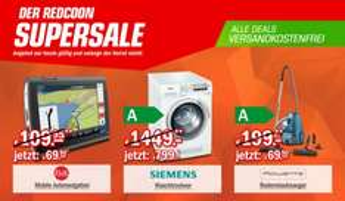 Redcoon Supersale am 23. März 2015 - u.a. mit: Falk NEO 520 LMU Navigationsgerät für 69,90€