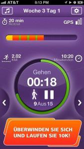 """""""Lauftraining 10 km Pro"""" kostenlos für iOS - 4,99 € sparen"""