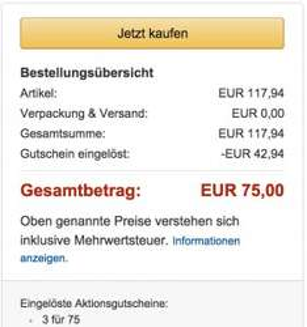 Amazon: 3 Spiele für 75€! Bsp: GTA V + Evolve + Diablo 3 UEE