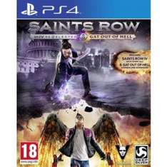PS4: Saints Row IV Re-elected/ Saints Row: Gat Out of Hell für 29,99€ @PSN/ bzw. 25,90 aus England
