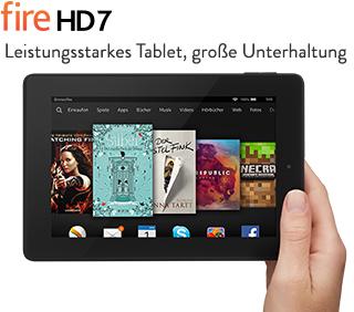 """Amazon Kindle Fire HD 7"""" Tablet um 79,67€ bei Amazon.de"""