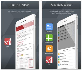 OfficeSuite Premium kostenlos für iOS - 24 € sparen