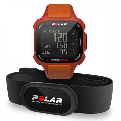 Comtech: Polar RC3 GPS HR Trainingscomputer inkl. Herzfrequenzsensor für 132,99€ - Ersparnis von 26%