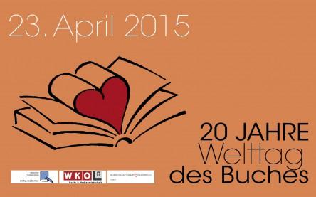 Welttag des Buches 2015 - gratis Buch + gratis Lesungen und Buchverleih - nur heute 23.4.2015
