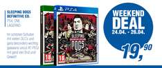 Gameware: Sleeping Dogs Definitive Special Edition (PlayStation 4 / Xbox One) für 22,89€