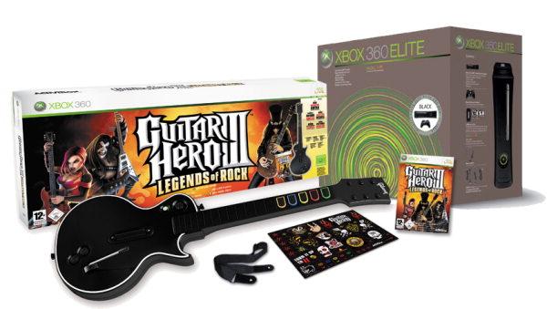 [X360] XBox 360 Elite + Guitar Hero 3 Bundle für 299€