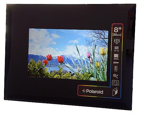 "Digitaler 8"" Fotorahmen Polaroid XSU-00810B für 40€ *UPDATE*"