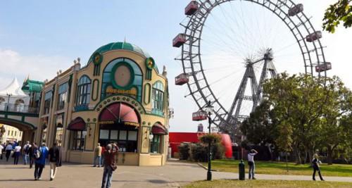 Wiener Prater Gratis-Stunde - am 2. Mai von 12-13 Uhr 35 Attraktionen kostenlos