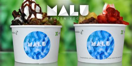 MALU Frozen Yogurt Deal - bis zu 51% sparen