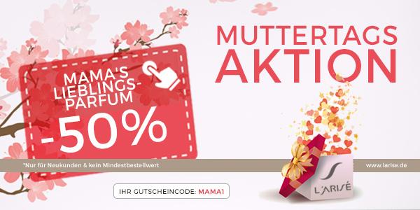 L'Arisé: 50% Rabatt auf ein Parfum eurer Wahl
