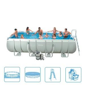 [Hofer] Intex Ultra Quadra Frame Pool 549 x 274 x 132 cm für 679€ - 12% Ersparnis