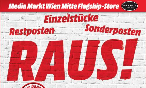 Media Markt Wien Mitte Abverkauf - Viele Angebote bis zum 23.05.2015