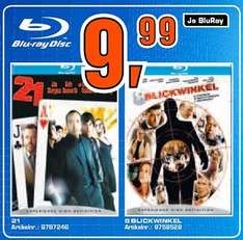 [Blu-ray] 8 Blinkwinkel und 21 für 10€ im Saturn Leipzig