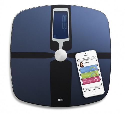 Amazon: adeVital Analysis BA 1400 Körperanalysewaage (Bluetooth) für 28,22€