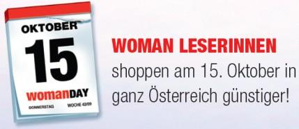 Woman Day (auch für Männer) mit -20% in vielen Geschäften - z.B. Wii für 160€ oder XBox 360 Elite (inkl. Spiel) für 200€!