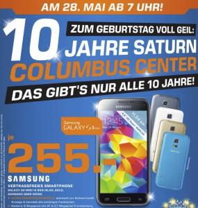 10 Jahre Saturn Columbus Center (Wien) - viele gute Angebote