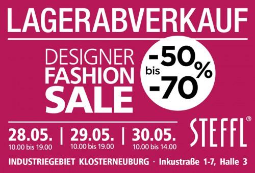 Steffl Lagerabverkauf: Bis zu 70% auf Markenkleidung - Nur bis zum 30. Mai