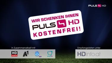 """PULS 4 HD"" ab sofort kostenlos in HD - gültig bis 9.6.2015"