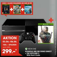 [Libro] Xbox One + The Witcher 3 für 299€/ bzw. 294€ vom 3.- 6. Juni