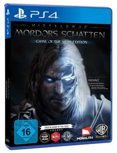 Amazon: Mittelerde: Mordors Schatten - Game of the Year Edition für 32,97€