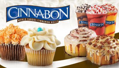 Cinnabon - 15 € Wertgutschein um 7,50 € - 50% sparen