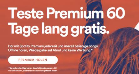Spotify Premium - ab sofort 60 Tage lang gratis testen