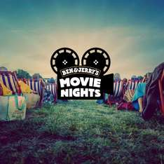 Ben & Jerry's Movie Night - Gratis Eis & Open Air Kino am 16. Juli in Wien