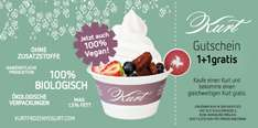 """Kurt"": 1+1 Gratis Frozen Yogurt - 50% sparen"