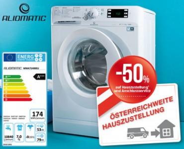 Aliomatic Waschmaschine um 279 €bei Hofer - am 9.7.2015