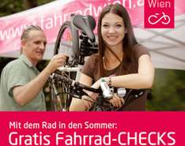 (Top!) Kostenlose Fahrrad-Checks in Wien - über 50 Standorte - Termine bis 9.10.2015