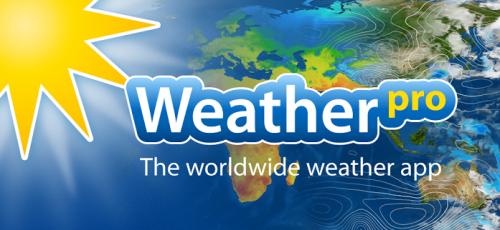 """""""WeatherPro"""" für iOS um 0,99 € - statt 2,99 €"""