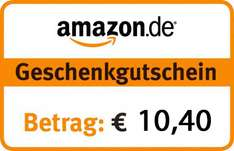 [Top] 10,40 € Amazon Gutschein um 8 € - Ebay