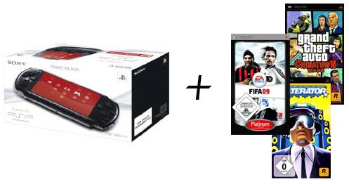 """Sony PSP + 3 Spiele für 150€ - Amazon """"Preisfehler"""""""
