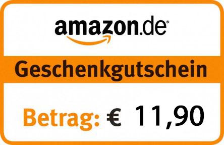 [Top] 11,90 € Amazon Gutschein um 8,95 € – Ebay - 25% sparen