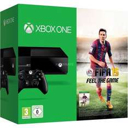 ZackZack: Microsoft Xbox One (500GB) FIFA 15 Bundle für 289€