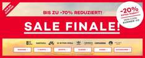 Planet-Sports Sale mit bis zu 70% Rabatt + zusätzlich 15% Rabatt - Nur bis zum 9. August