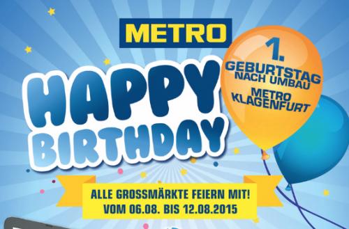 Metro Geburtstag: Viele Angebote vom 6. bis zum 12. August - u.a. mit 30% Rabatt auf alle Konsolen