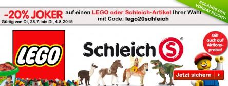 [Interspar] -20% auf LEGO und Schleich-Artikel