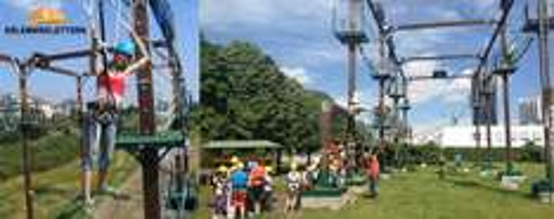 Kletterpark Donauinsel - 50% auf Eintritt sparen