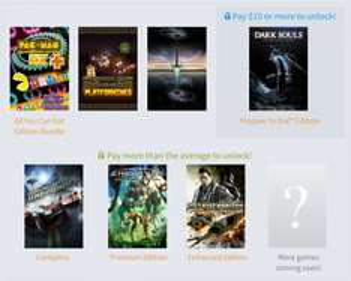 Humble BANDAI NAMCO Bundle - Bis zu 7 Spiele ab 0,91€