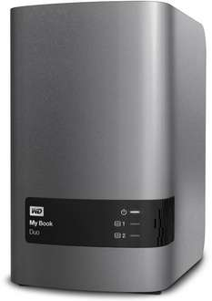 Amazon: WD My Book Duo Premium-Speicher mit 6TB (2x 3TB WD Red) für 259,90€