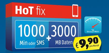 """[Info] """"HoT"""" (Hofer Telekom) - ab sofort mit 21 MBit/s"""
