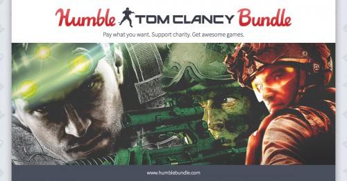 Humble Tom Clancy Bundle - Bis zu 12 Spiele ab 0,89€