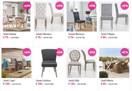 [mömax] 1+1 Aktion bei verschiedenen Sesseln - 50% sparen