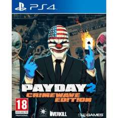 Payday 2 - Crimewave Edition [PS4/ Xbox One] für 28,50€ @thegamescollection - Ersparnis 34% (PS4) / 36% Xbox One