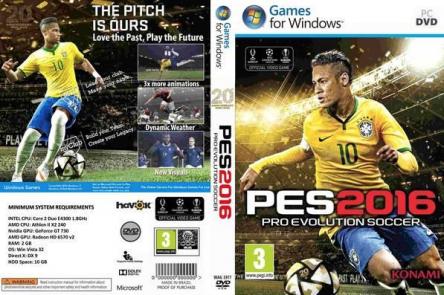PES (Pro Evolution Soccer) 2016 für PC um nur 19,99 € - rund 50% sparen